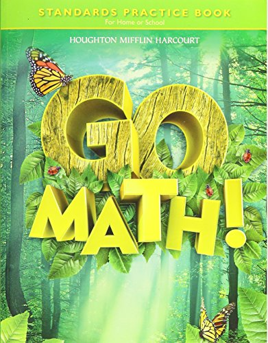 9780547392585: Go Math! Grade 1 Standards Practice Book: For Home or School