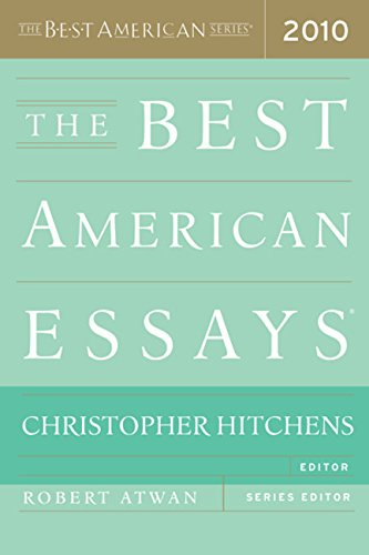 9780547394510: The Best American Essays 2010