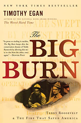 9780547394602: The Big Burn: Teddy Roosevelt and the Fire that Saved America