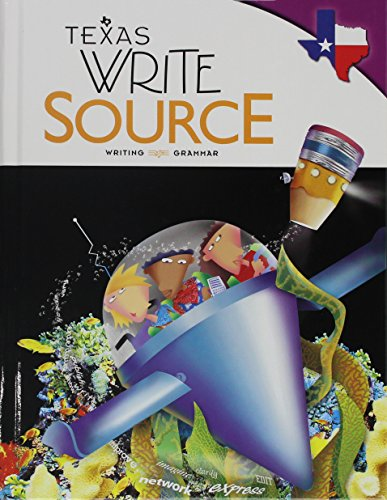 9780547394800: Great Source Write Source Texas: Student Edition Grade 7 2012