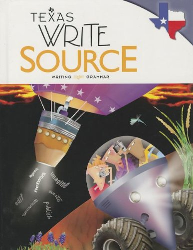 9780547394886: Great Source Write Source: Student Edition Grade 8 2012