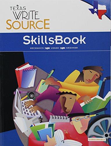 9780547394985: Great Source Write Source Texas: SkillsBook Student Edition Grade 9