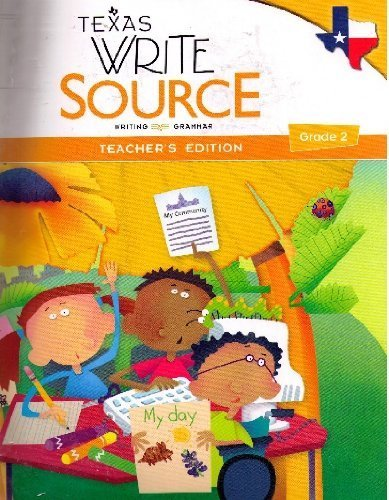 9780547395159: Texas Write Source Teacher's Edition, Grade 2