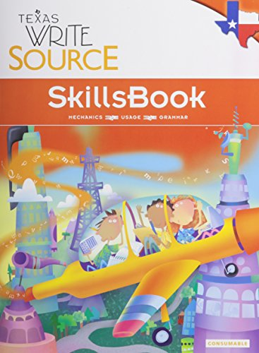 9780547395562: Great Source Write Source Texas: SkillsBook Student Edition Grade 3