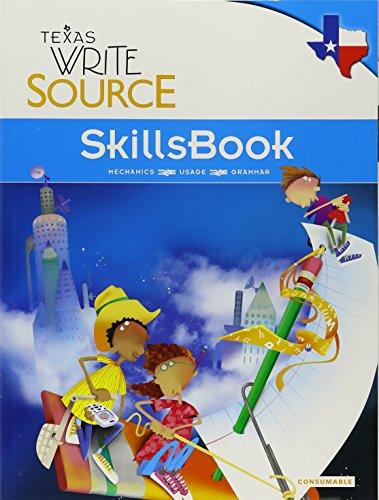 9780547395630: Great Source Write Source Texas: SkillsBook Student Edition Grade 5