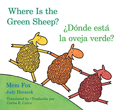 9780547396941: Donde esta la oveja verde?/Where Is the Green Sheep? (English and Spanish Edition)