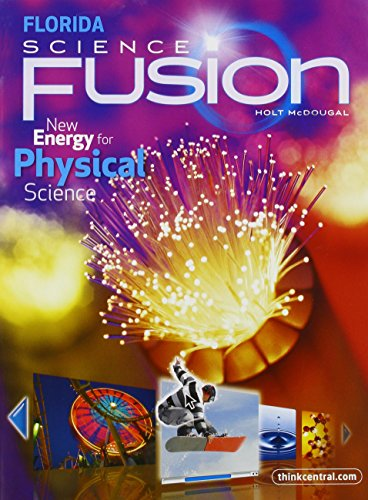 9780547398778: Holt McDougal Science Fusion Florida: Student Edition Interactive Worktext Grades 6-8 Physical 2012