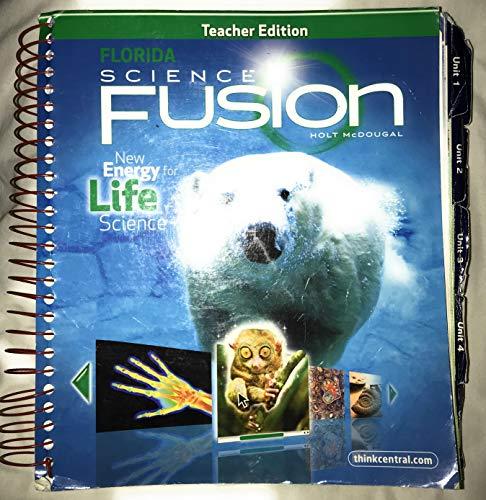 9780547398815: Teacher Edition Florida Science Fusion - Life Science