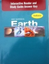 9780547404134: Holt McDougal Earth Science Indiana: Interactive Reader Answer Key