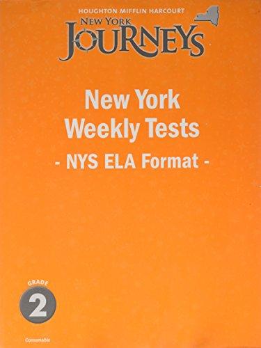 9780547407777: Journeys New York: Weekly Test Teacher Guide Grade 2