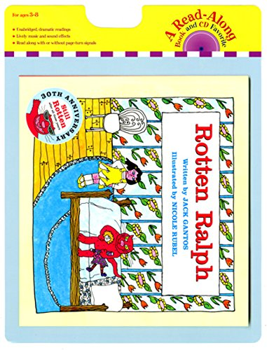 9780547418070: Rotten Ralph Book and CD