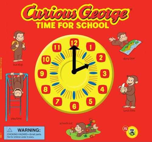 9780547422305: Curious George Time for School (CGTV Novelty 8x8)