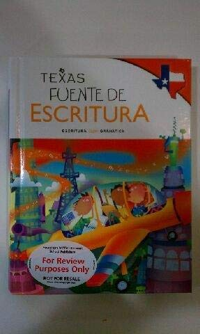 9780547422473: Great Source Write Source Spanish Texas: Student Edition Grade 3 2012 (Spanish Edition)