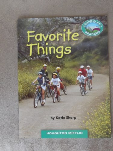 Favorite Things Grade 1 Houghton Mifflin Vocabulary Reader Accompanies Journeys: Katie Sharp