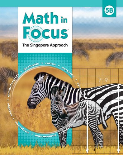 9780547428840: Math in Focus: Singapore Math: Homeschool Package, 2nd Semester Grade 5 2010