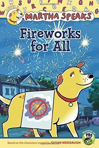 9780547428925: Martha Speaks: Fireworks for All (Reader)