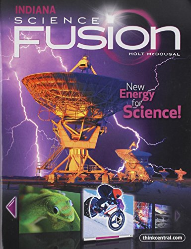 9780547438443: Holt McDougal Science Fusion Indiana: Student Edition Interactive Worktext Grade 6 2012