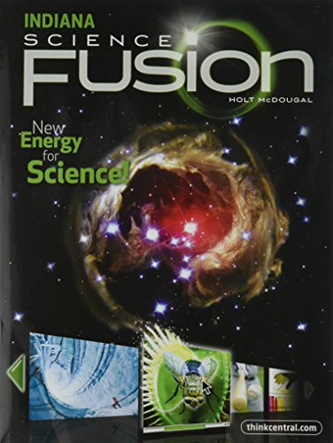 9780547438498: Holt McDougal Science Fusion Indiana: Student Edition Interactive Worktext Grade 8 2012