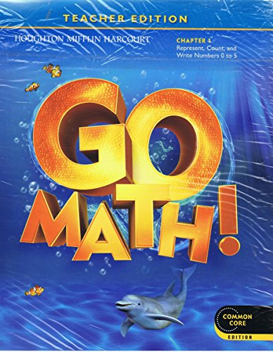 9780547444147: Houghton Mifflin Harcourt: Go Math! GRADE K Teacher Editions & Planning Guide Bundle