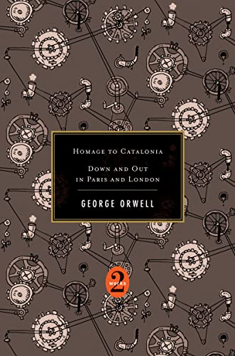 9780547447339: Homage to Catalonia / Down and Out in Paris and London (2 Works)