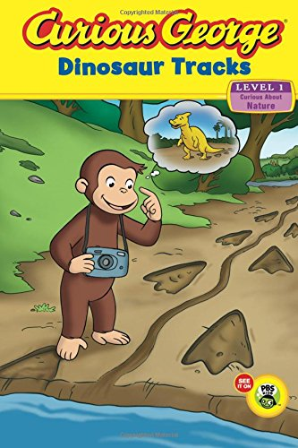 9780547449609: Curious George: Dinosaur Tracks: Curious about Nature (Green Light Readers. Level 1)