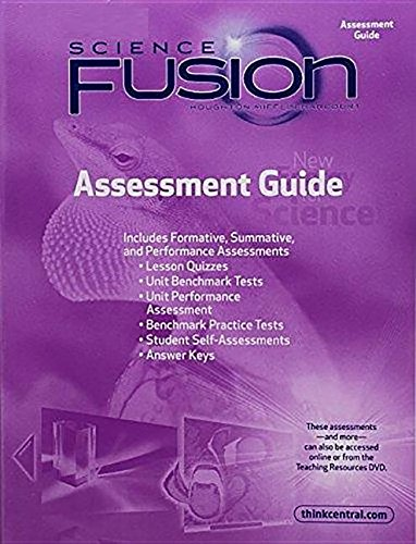 9780547451633: Houghton Mifflin Harcourt Science Fusion Indiana: Assessment Guide Grade 3