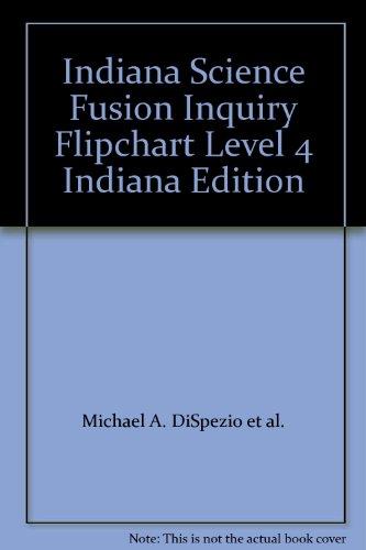 9780547451749: Indiana Science Fusion Inquiry Flipchart Level 4 Indiana Edition