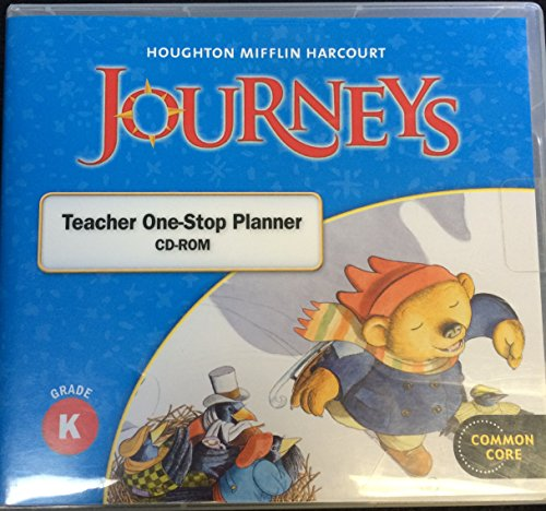 Journeys Teacher One-Stop Planner CD-ROM Grade K (Common Core)
