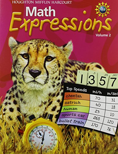 9780547473338: Math Expressions: Student Activity Book (Consumable), Volume 2 Grade 5 2011