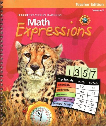 9780547473680: Teacher Edition, Math Expressions, Volume 2, LV 5