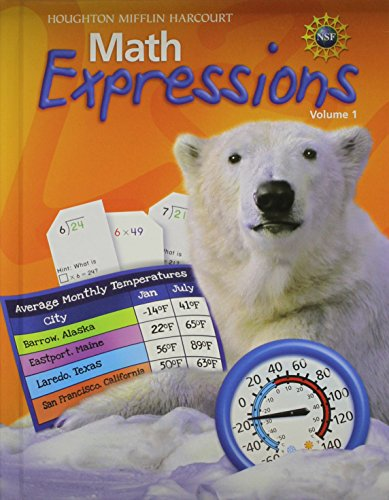 9780547474120: Math Expressions: Student Activity Book Hard Cover Collection Grade 4 2011