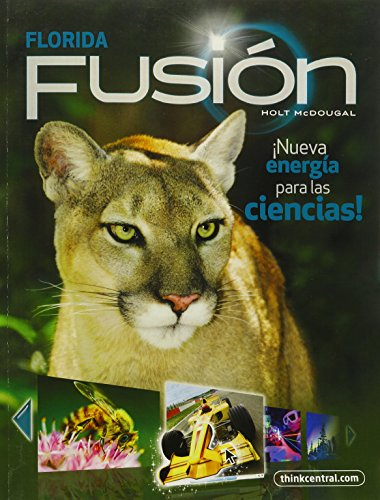 9780547475059: Holt McDougal Science Fusion Spanish Florida: Student Edition Interactive Worktext Grade 7 2012