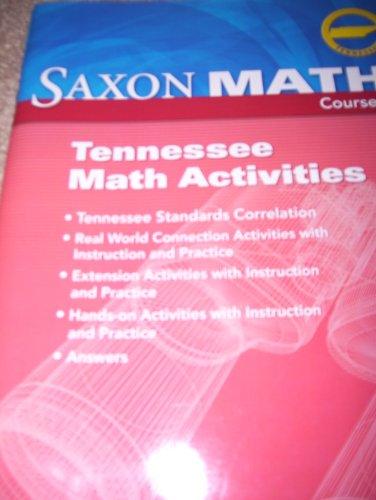 Saxon Algebra 1 Tennessee: Saxon Math Course: SAXON PUBLISHERS