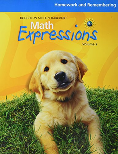 9780547479149: Math Expressions: Homework and Remembering, Volume 2 Grade K