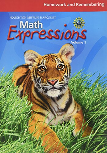 9780547479170: Math Expressions: Homework and Remembering, Volume 1 Grade 2