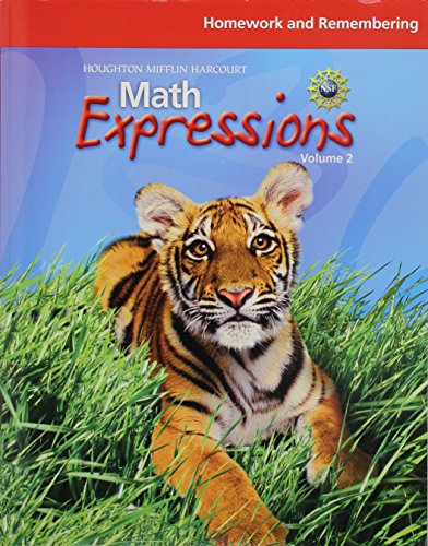 9780547479187: Math Expressions: Homework and Remembering, Volume 2 Grade 2