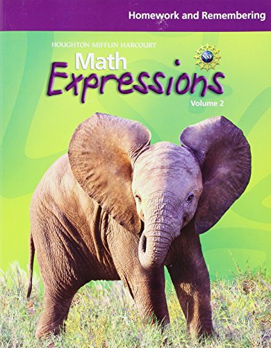 9780547479422: Math Expressions: Homework and Remembering (Consumable), Volume 2 Grade 3