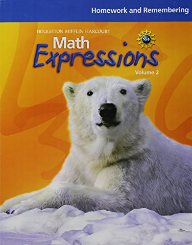 9780547479446: Math Expressions: Homework and Remembering (Consumable), Volume 2 Grade 4