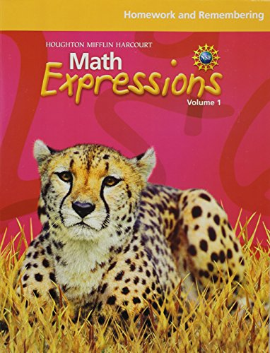 9780547479453: Math Expressions: Homework and Remembering (Consumable), Volume 1 Grade 5