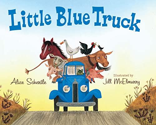 Little Blue Truck (Paperback): Alice Schertle