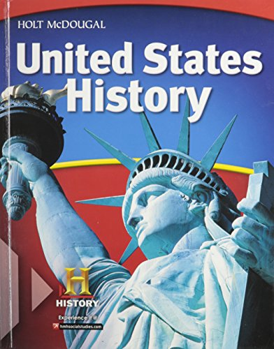 9780547484280: United States History,Grades 6-8: National