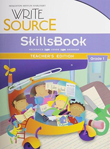 9780547484358: Write Source: SkillsBook Teacher's Edition Grade 1