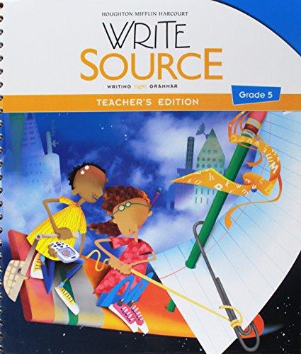 9780547484396: Title: Write Source Writing Grammar TE Grade 5