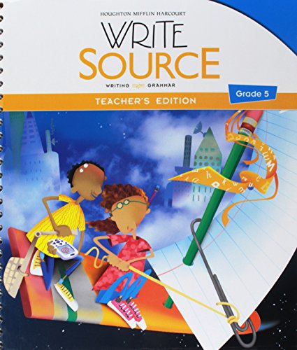 9780547484396: Write Source: Teacher's Edition Grade 5 2012