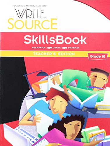 9780547484457: Write Source: SkillsBook Teacher's Edition Grade 10