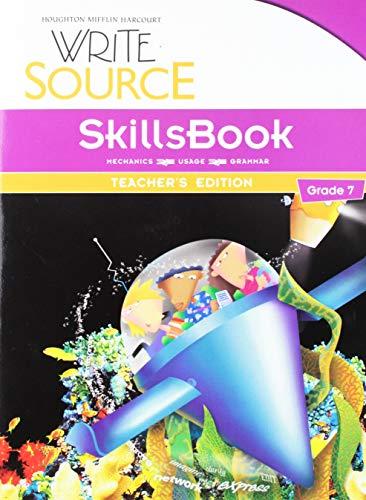 9780547484464: Write Source SkillsBook, Grade 7, Teacher's Edition
