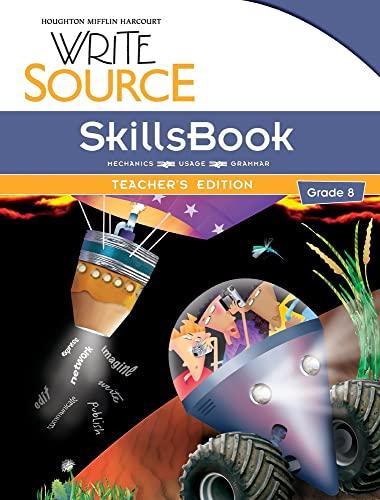 9780547484570: Write Source: SkillsBook Teacher's Edition Grade 8