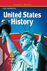 9780547484778: United States History, Teacher's Edition