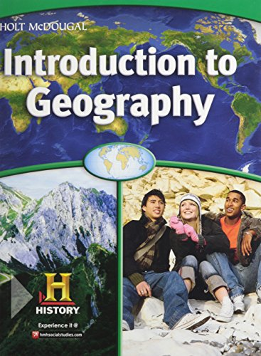 9780547484907: World Regions: Introduction to Geography: Student Edition 2012