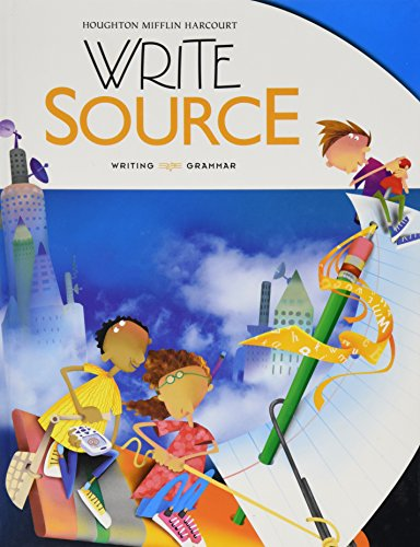 9780547485003: Write Source: Student Edition Hardcover Grade 5 2012 (Great Source)
